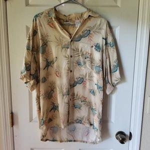 Moda Campia Moda Mens Camp Hawaiian Shirt Top